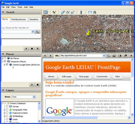Google Earth LEHAU / FrontPage
